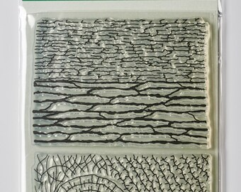 Organic Texture Stamp/Sheet - 'WOODS'