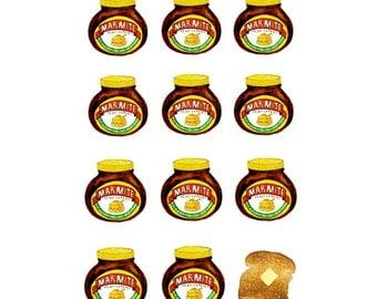 Marmite LIMITED EDITION Print - A4 print - marmite gifts - kitchen print - prints for kitchens - wall art - kitchen art - food art - toast