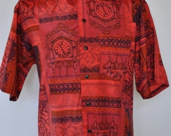 men silk shirts etsy