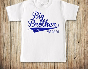 Big Brother Shirt, Big Brother Announcement TShirt, Sibling Shirt, I'm going to be a big brother, Promoted To, Only Child Expiring