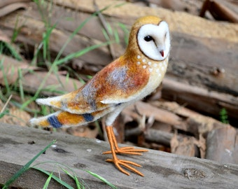Barn owl - by Harthicune