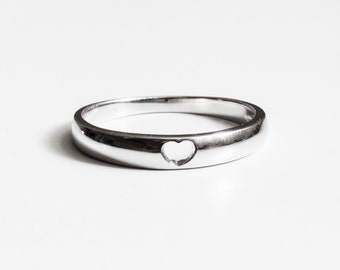 Heart ring - 925 Sterling Silver Edition