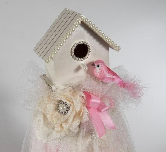 Birdhouse Diaper Cake