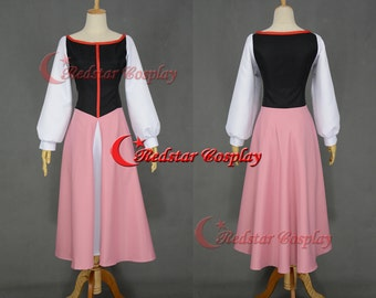 Eilonwy Cosplay Costume Dress from the Black Cauldron