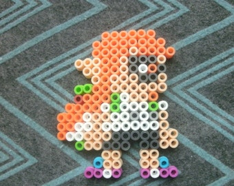 Perlers - Super Mario Maker Inkling Girl