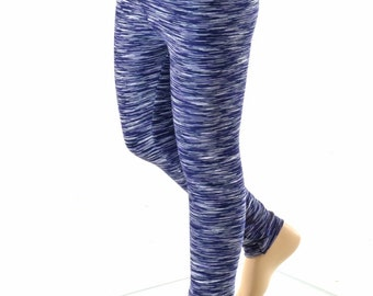 Kids Navy Strata Soft Knit Leggings  Childrens and Girls Sizes 2T 3T 4T and 5-12   152263