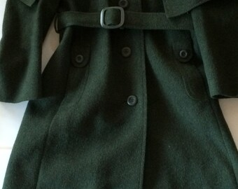 Loden Frey Coat Germany - Stunning Woman's Winter Coat -