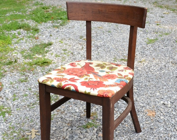 Mid Century Desk Chair Sewing Chair Danish Modern MCM Panchosporch