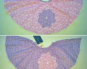 Baby Circle Skirt - Infant Easter Skirt - Reversible Baby Circle Skirt - Twirl Skirt - Toddler Skirt