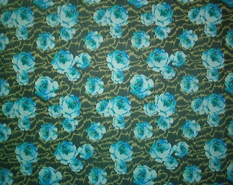 Sale-AMY BUTLER cotton fabric-Flowing Buds-HAPI collection-by the yard