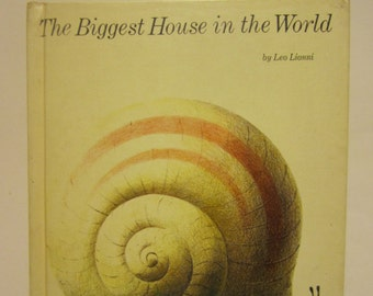 1968 First Edition The Biggest House in the World by Leo Lionni Hardcover Book Pantheon