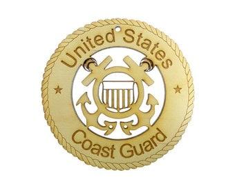 US COAST GUARD Ornament - Coast Guard Ornaments - Coast Guard Gift - Coast Guard Gifts - Coast Guard Decor - Military Gifts