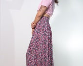 On Sale, maxi skirt, floral skirt, high waist skirt, maxi floral skirt, limited edition, petite floral