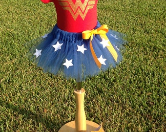 Babies and Toddler Wonder Woman 3 piece costume set