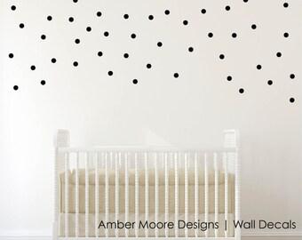 Polka Dot Decals - Confetti Circle Decals - Vinyl Circles - Circle Decals - Circle Wall Decals - Polka Dot Decals