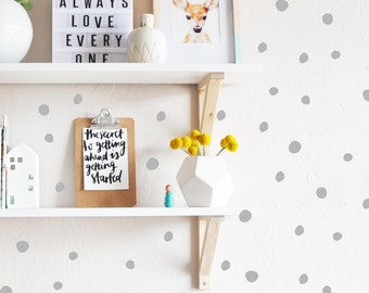Wall Decal - Tiny Hand Drawn Dots - Wall Sticker room decor