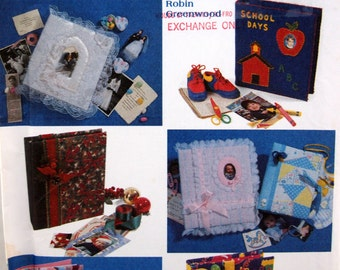 Covers For Photo Albums And Scrapbooks Simplicity Crafts 7864 Uncut Sewing Pattern 1997