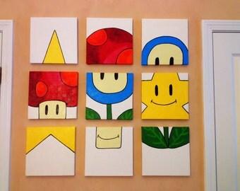 Mario Inspired Painting