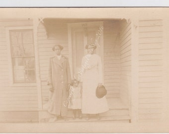 Three Generations Vintage photograph-RPPC