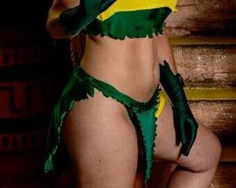 Marvel Comics Savage Land Rogue Cosplay Costume