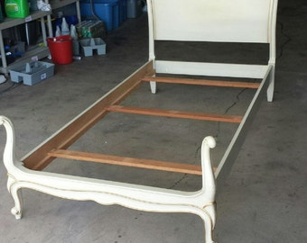 Twin Bed French Provincial Drexel Touraine