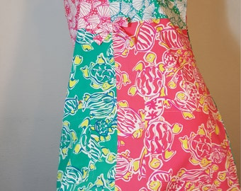 FREE  SHIPPING     Vintage Lilly Pulitzer Dress