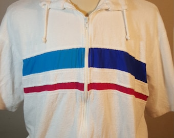 FREE  SHIPPING  Vintage 1970 Men Nautical Jacket