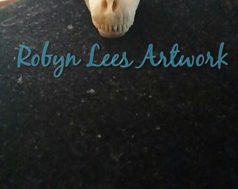 Large Tyrannosaurus Rex Dinosaur Skull Necklace on Silver or Bronze Crossed Chain or Black Faux Suede Cord. T-Rex Anatomy, Gothic Anatomical