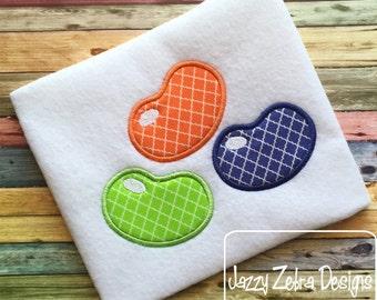 Jelly Beans Applique embroidery Design - Easter appliqué design
