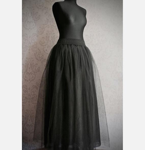 how to make a floor length skirt