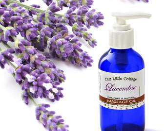 Lavender Massage Oil, Massage Oil, Sleep Massage Oil, Lavender Oil