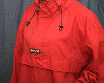 Chaps Ralph Lauren red pullover jacket