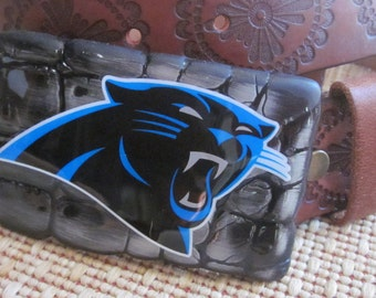 panthers   Belt Buckle