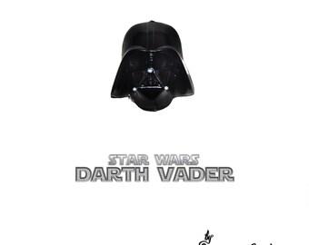 Darth Vader 3D Pin Brooch - Star Wars Dark Side