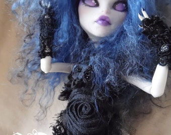 Monster High OOAK Crystah Catrine full custom 1/6 doll vinyl