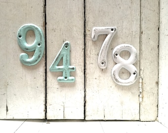House Numbers, Address Numbers, Metal House Numbers, House Number, Home Decor, House Numbers, Address Sign, Custom Apartment Numbers