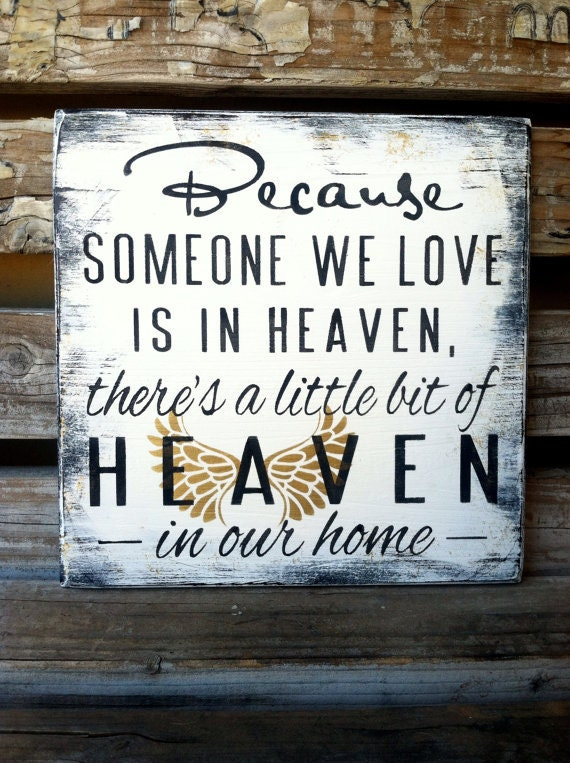 Items similar to Angel Wings! Because Someone We Love Is ...