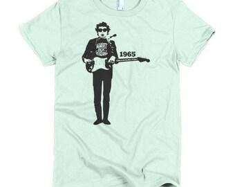 Bob Dylan Ladies T-shirt Newport Folk Festival 1965