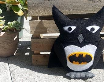 Bat-Owl: Owl Plush
