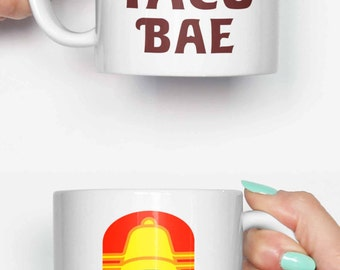Old Taco Bell bae - funny mug, gifts for him, meme mug, unique mug, office mug, housewarming ...