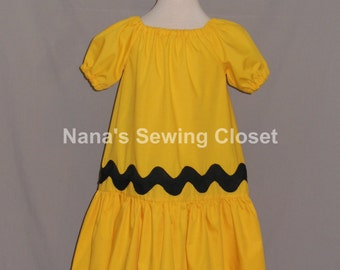 Charlie Brown Inspired Dress