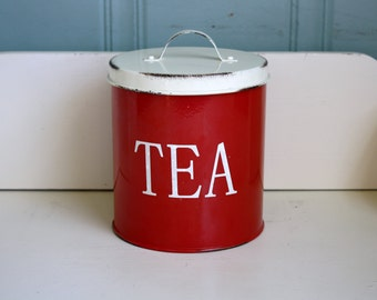 Tea Canister Kitchen Decor