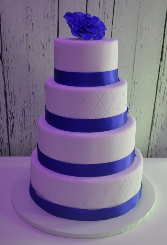 wedding cake fake tiers four tier fondant faux wedding cake wedding cake dummy 22589