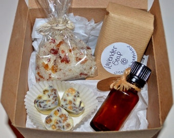 Relaxing Bath Gift Set