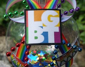 LGBT Christmas Ornament