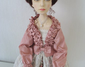 Artist doll, by Elena Fesler, skulpt. Orig., collector doll