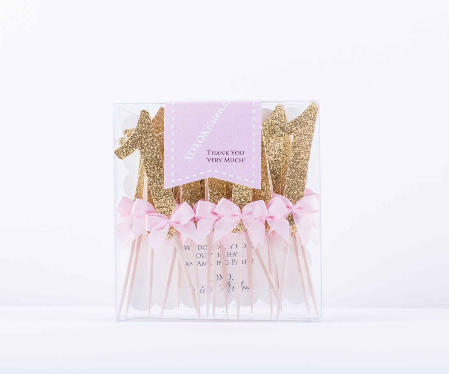 Gold Birthday Decorations Pink And Gold Birthday Decorations Glitter Gold Number Cupcake