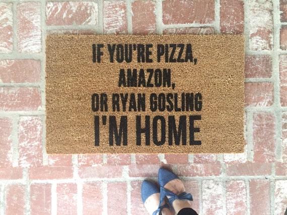 Made to order If You're Pizza Amazon or Ryan Gosling von ShopJosieB