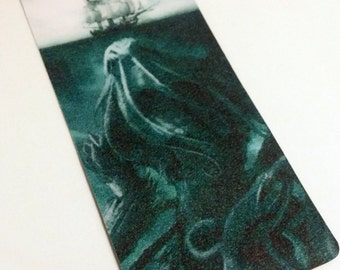 Up from the deep: Cthulhu bookmark