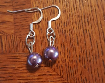 Light Purple Childrens Earring